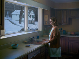 Woman at Sink, 2014. Digital pigment print. 37 1/2 x 50 inches. Edition of 3 plus 2 APs.
