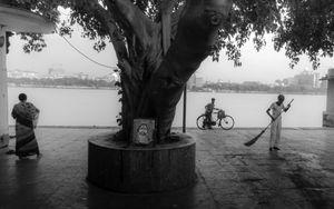 Life on the river banks