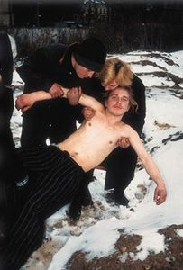 From Case History, Kharkov, Ukraine, 1997-1998. © Boris Mikhailov