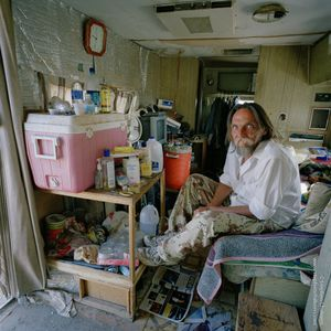 Everett 'Insane Wayne' Smith (58), from the series, Transience © Stephen Chalmers