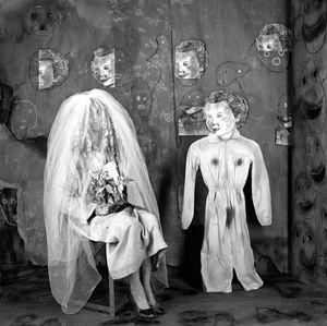 "Bride. From the series ""Asylum of the Birds"" © Roger Ballen"