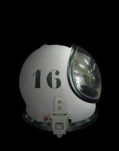 Ergolier helmet, Guiana Space Centre, French Guiana, November 2012 © Edgar Martins, Galerie Melanie Rio