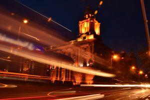 Belfast on fire