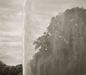 "Fountain, Stanway, 18.5x16"" Platinum Palladium © Beth Dow"