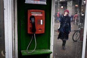 An Old Soviet Payphone