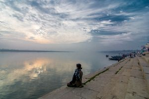 Meditating in peace
