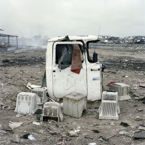 © Pieter Hugo, Untitled, Agbogbloshie Market, 2009-10, Accra, Ghana. Series: Permanent Error