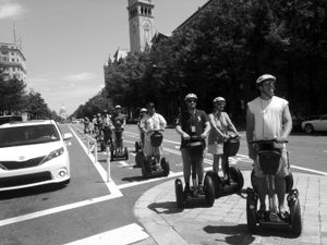 Segway Tourists, Washington, D.C.