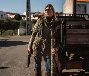 Maria Teresa, huntress. © Antonio Pedrosa