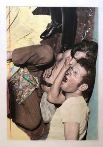 """Luis Aldana yGustavo Osorio capturado treshoras despuésdecometerunasalto""""Luis Aldana and Gustavo Osorio captured three hours after committing an assault""Enero Jan27/69"