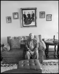 """""""When I was eight to nine years old, I hung around my father's café in Ramallah playing cards and backgammon with the grown men.""""  Samir Totah. Pharmacist, Retired. Ramallah, Palestine to San Mateo, CA."""