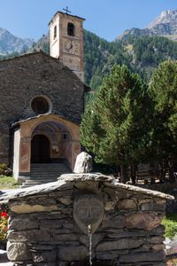 Chianale, Cuneo, Italy, below the Colle dell'Agnello
