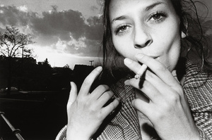Smoking Woman (Girl), 1971