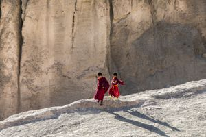 Young monks from Yuru gompa