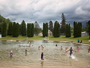Pine Springs Pool, Pine Springs, Minnesota, 2017