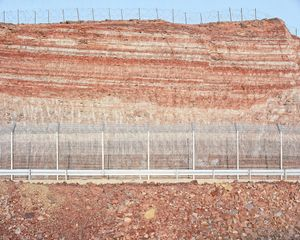 Roadcut, Red Mountains (Egypt Border), 2012