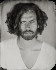 """Jeremy."" 8x10""  Wet-plate collodion tintype. © 2011 Keliy Anderson-Staley"