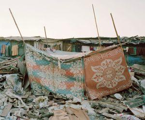 Rebuilt Home #1; Lallubhai Compound, Mankurd, Mumbai © Noah Addis