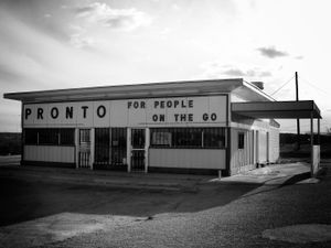 """""""Pronto for People on the Go"""", Lordsburg, New Mexico, 2010"""