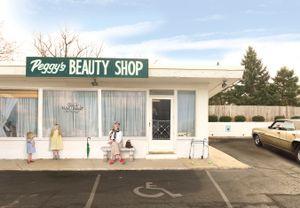 Peggy's Beauty Shop.