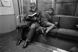 Reading & Sleeping © Bob Mazzer