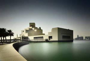 The Museum of Islamic Art at the south side of the corniche
