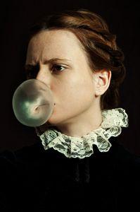 Portrait with Bubble Gum