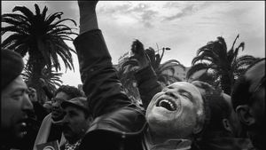 Tunis, Tunisia (2011). The beginning of the Arab Spring.