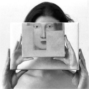 Kabuki Trio, 3rd, from Transfigurations: A Collaboration, © photographer Richard Bram and painter Silvia Willkens, 2007