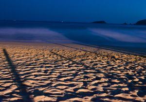 La Ropa beach. Sunrise. Zihuatanejo.