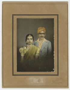 Silver gelatin print with hand-tinting and overpainting, India, c1940. © amc2