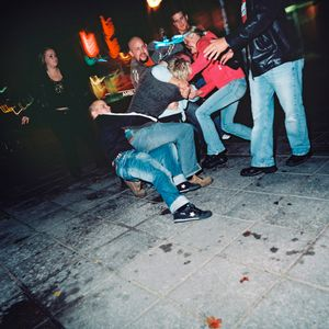 Outside a bar, 03.50  from the series BATTERED (2006-2007). © Harri Pälviranta