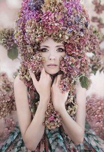 'Hydrangea Girl'