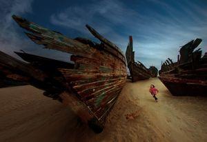 Deserted Boat Series