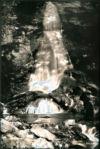 "Waterfall #2. From the series ""Lights/Water/Conglomerate"""