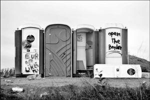End of the Jungle, Calais, France oktober 2016