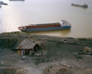 The Coal Shack, Yangtze River, China.