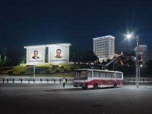 Trolley Bus, Pyongyang, North Korea, 2015
