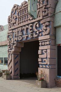 Aztec Hotel Entrance, Historic Route 66, Monrovia