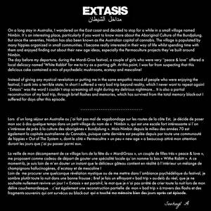 EXTASIS - Les sentiers de l'égarement