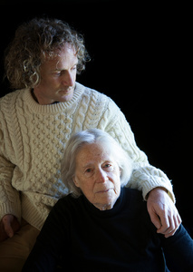 Portrait of Nancy Curtis and Theo Padnos