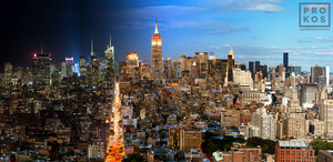 Night & Day - Manhattan Cityscape #1