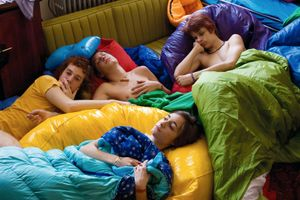 Sleepover Party, from Teen Tribe © Martine Fougeron