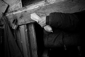 Holding hand / Russia, Samara, 2013