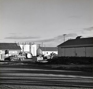 Late afternoon. Limon, Colorado. ca. 1970. © Robert Adams. Image courtesy of Fraenkel Gallery.