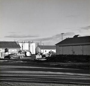 Late afternoon. Limon, Colorado. ca. 1970. © Robert Adams. Image courtesy of Fraenkel Gallery.