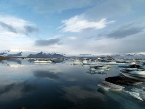Jokulsarion Glacier Lagoon, South East Iceland
