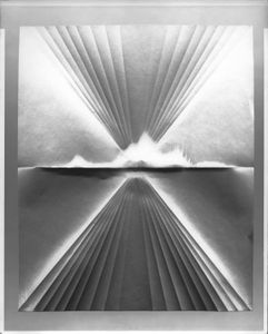 Folded Paper Negative #11, 2018 © Caleb Charland, Courtesy East Wing.
