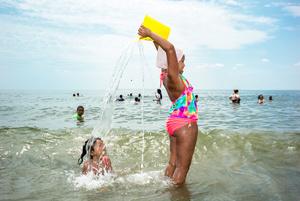 Girl With Yellow Bucket