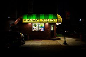 ARAMINGO BEST PIZZA at 8:47pm